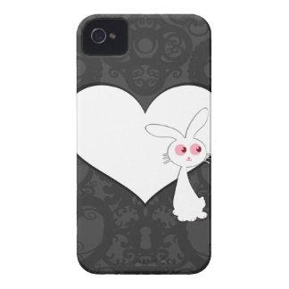 Shiro Bunny Love I Case-Mate iPhone 4 Case