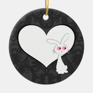 Shiro Bunny Love I Ornament