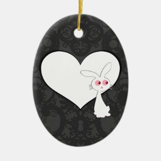 Shiro Bunny Love I Ornaments