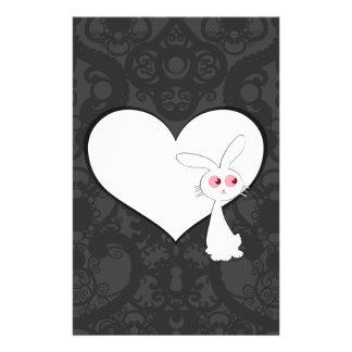 Shiro Bunny Love I Stationery Paper