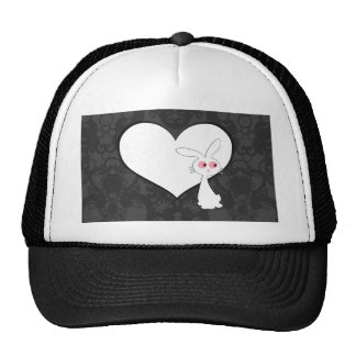 Shiro Bunny Love I Trucker Hat
