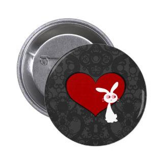 Shiro Bunny Love II Button