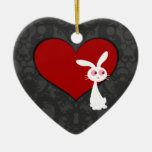 Shiro Bunny Love II Ornament