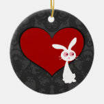 Shiro Bunny Love II Ornaments
