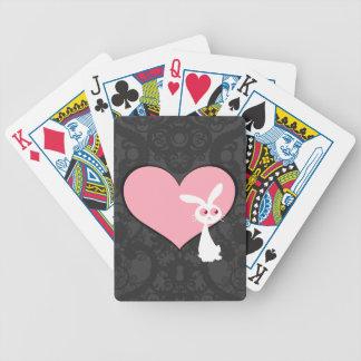 Shiro Bunny Love IV Bicycle Playing Cards