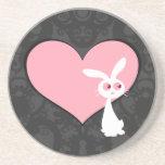 Shiro Bunny Love IV Coasters