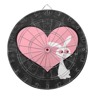 Shiro Bunny Love IV Dartboard With Darts