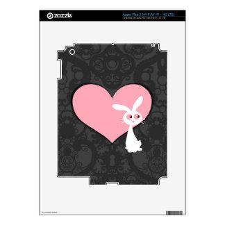 Shiro Bunny Love IV iPad 3 Decals