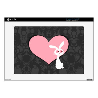 Shiro Bunny Love IV Laptop Decal