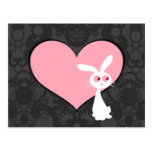 Shiro Bunny Love IV Postcard