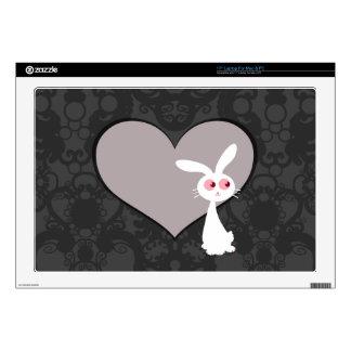 """Shiro Bunny Love V 17"""" Laptop Skin"""