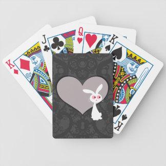 Shiro Bunny Love V Bicycle Playing Cards