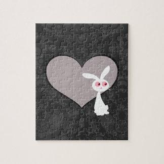 Shiro Bunny Love V Jigsaw Puzzle