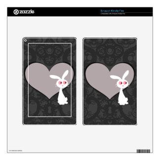 Shiro Bunny Love V Skin For Kindle Fire