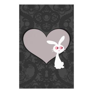 Shiro Bunny Love V Stationery Design