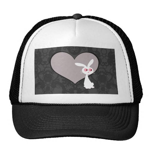 Shiro Bunny Love V Trucker Hat