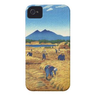 Shiro Kasamatsu Harvest Time Shin Hanga japan art iPhone 4 Case