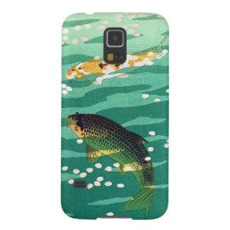 Shiro Kasamatsu Karp Koi fish pond japanese art Case For Galaxy S5