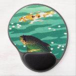 Shiro Kasamatsu Karp Koi fish pond japanese art Gel Mouse Mats