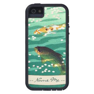 Shiro Kasamatsu Karp Koi fish pond japanese art iPhone SE/5/5s Case
