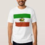 shiro khorshid - iran flag t-shirt