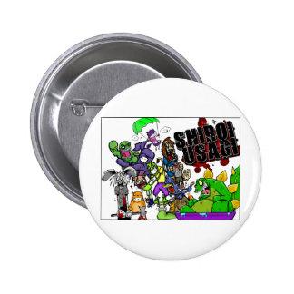 Shiroi Usagi Pinback Button