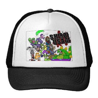 Shiroi Usagi Trucker Hats