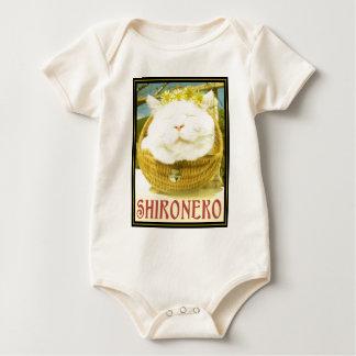 Shironeko or Basket Cat Baby Bodysuit