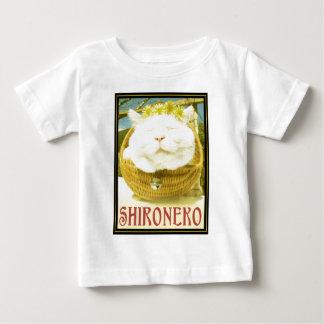 Shironeko or Basket Cat Baby T-Shirt