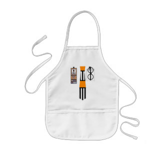 Shirt012 - Hockey Ref copy Kids' Apron