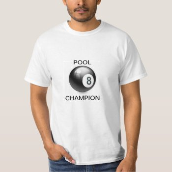 Shirt  8  Ball  Grey by creativeconceptss at Zazzle