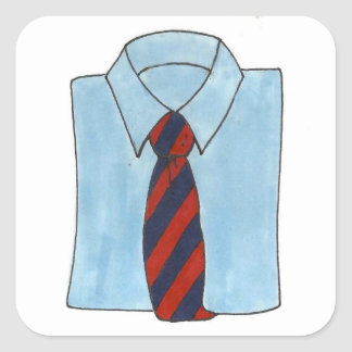 Shirt and Tie Stickers