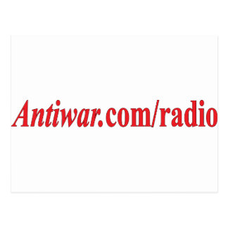 shirt_antiwar_dot_com_slash_radio postcard