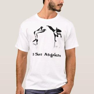 Shirt capoeira meu amor angola