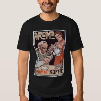 Shirt: Coffee Ad: Aroma Vergangt Koffie T-shirt