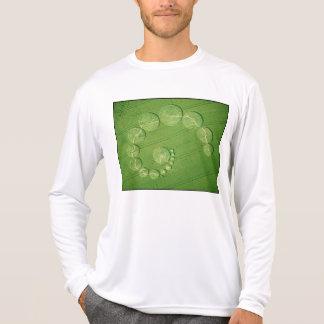 Shirt: Crop Circle - Single Julia Tee Shirt