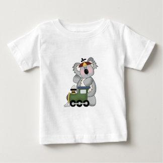 Shirt Cute Koala With Green Train