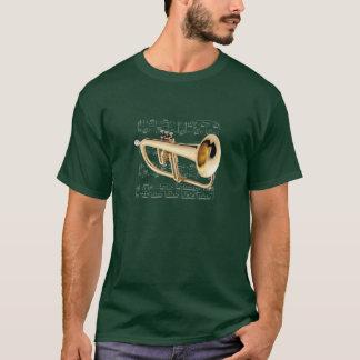 Shirt (dark).  Flugelhorn.  Pick your color