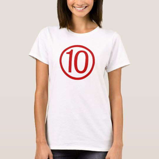 Shirt for a Ten Rating Scale Shirt Vintage Shirts