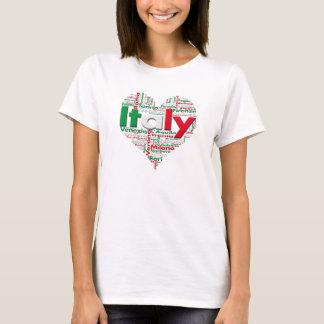 Shirt I Love Italy