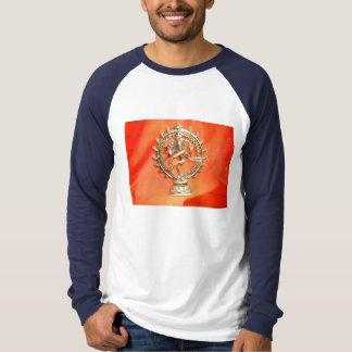 shirt india goddess hands hare krishna sari