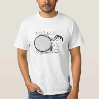 Shirt (light) Marching Bass Drum (Pick color)