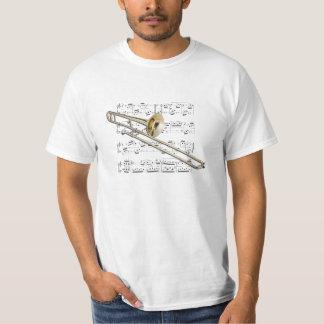 Shirt (light) - Trombone (tenor) - Pick your color