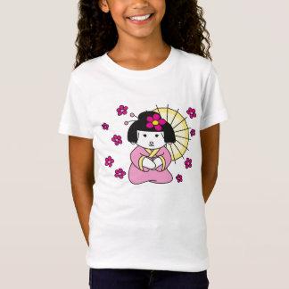 shirt little girl geisha