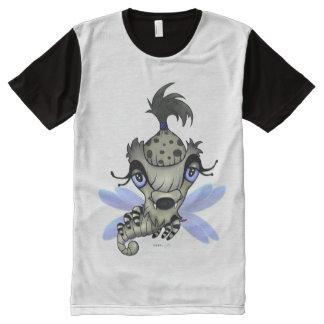 Shirt Men Queen Horsha Monster, monstre Chandail
