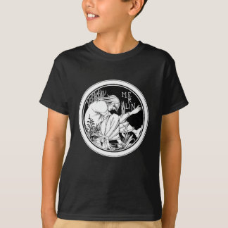 Shirt: Merlin -  by Aubrey Beardsley T-Shirt