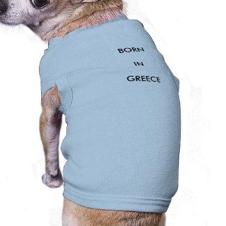 shirt para Streuner antiguas griegas Playera Sin Mangas Para Perro