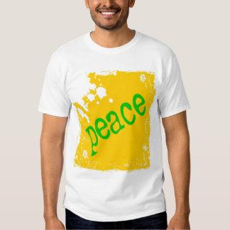 SHIRT_peace_yellow2 Camisas