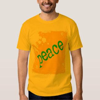 SHIRT_peace_yellow2 Playeras
