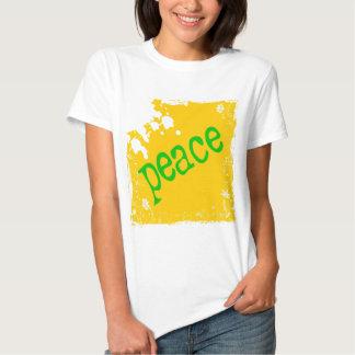 SHIRT_peace_yellow2 Polera